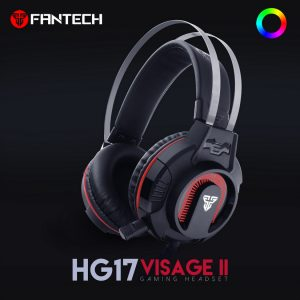 Fantech HG17 RGB Wired Black Gaming Headphone