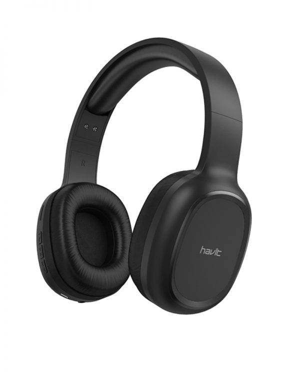 Havit H2590BT Multi-Function Bluetooth Black Headphone